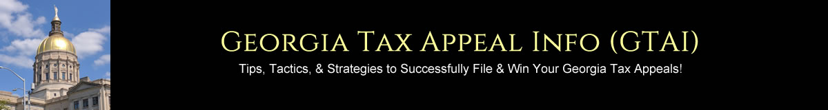 Georgia Tax Appeal Info